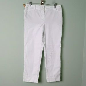 Talbots the perfect crop size 6 pants